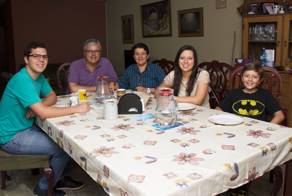 Homestay with Costa Rican families